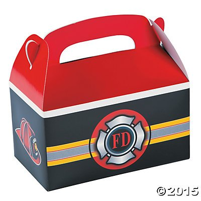 Fire Heroes Treat Boxes - 12 ct