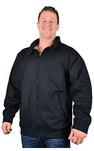 big-homme-noir-kam-hove-veste-style-harrington-kbs-428-taille-2xl-a-8xl-noir-xxxx-large