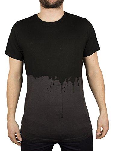 Religion Uomo Drip Tastic girocollo T-shirt, Nero, Small