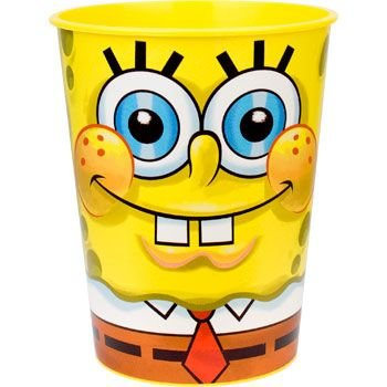 Spongebob Plastic Party Supplies Cup (each)