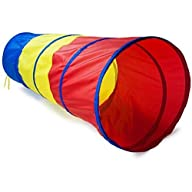 6-feet Play Tunnel Toy Tent Child Kid…