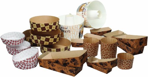 Welcome Home Brands EVERY40 40-Piece Everyday Oven-Safe Paper Bakeware Sampler Set