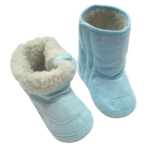 Baby - Toddler Fur Lined Boots - Blue