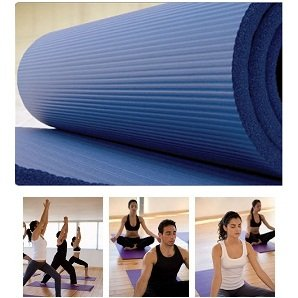"75"" x 40"" Padded Exercise Mat - Aerobics, Pilates, Situps"