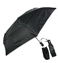 TUMI トゥミ 14415-D ミディアム・オートクローズ・アンブレラ 折りたたみ傘 ブラック [並行輸入品]