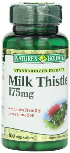 凑单品:NATURE'S BOUNTY 自然之宝 Milk Thistle 奶蓟萃取物(175mg*100粒)