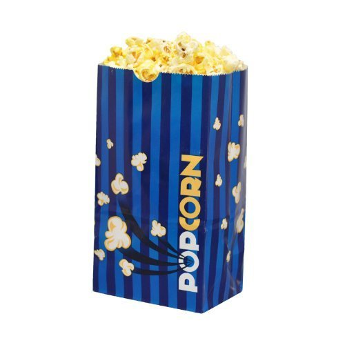 Hoosier Hill Farm Laminated Popcorn Bags - 2.5 oz. (50 Bags) (Popcorn Bag Flat compare prices)