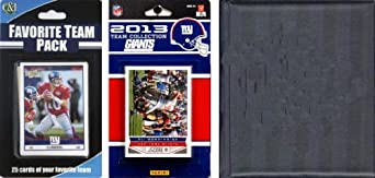 NFL New York Giants Licensed 2013 Score Team Set and Favorite Player Trading Card... by C&I Collectables
