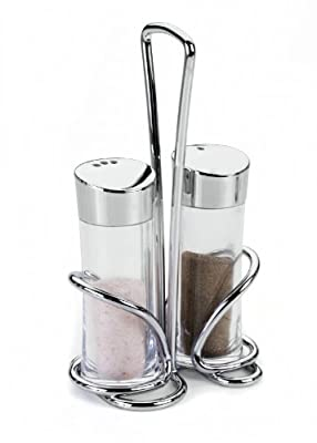 Metaltex 252870010 Olivia Salt and Pepper Set Acrylic from Metaltex Deutschland GmbH