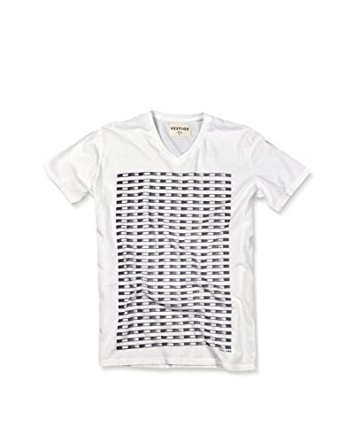 Vestige Men's Map Lines V-Neck Tee
