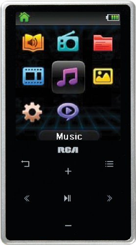 RCA M6208 8 GB Video MP3 Player with 2-Inch Color Display