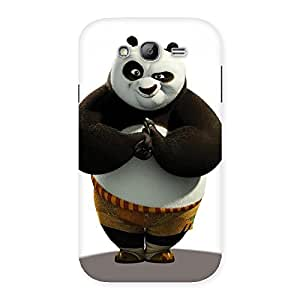 Radiant Punched Panda Back Case Cover for Galaxy Grand