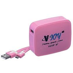 VJOY VGVP-07 5200mAh Power-Bank(Pink)