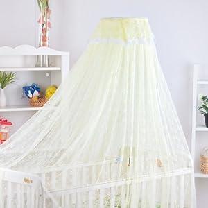 Dele Dome-type Mosquito Net / Floor-type Baby Mosquito Net / Mosquito Net with Bracket