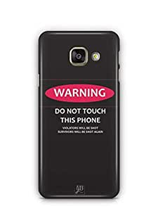 YuBingo Don't touch my Phone Mobile Case Back Cover for Samsung Galaxy A3 2016