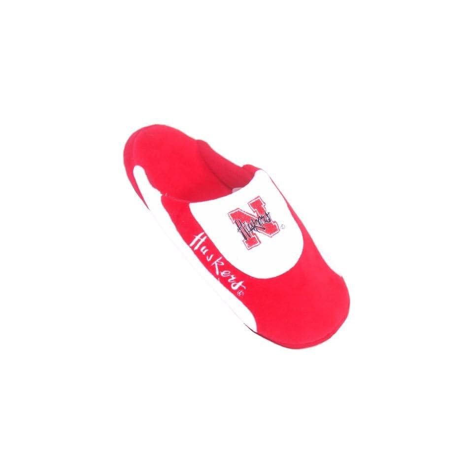 Nebraska Cornhuskers Mens Bedroom House Shoes