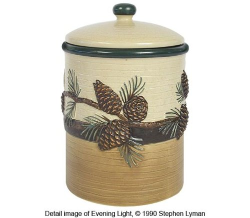 Pinecone Medium Canister