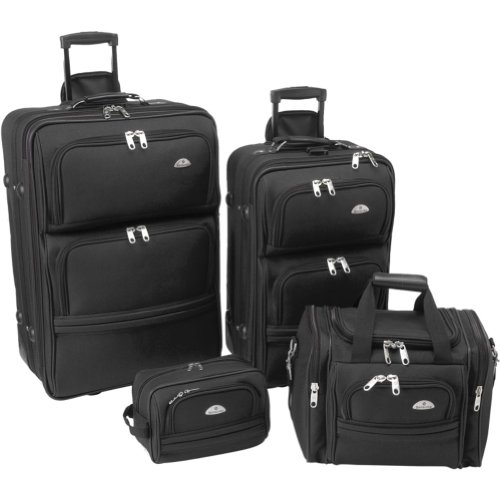 Samsonite 4-Piece Travel Set (Black)