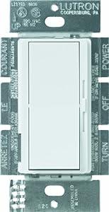 Lutron DV-603P-WH 600-watt 3-Way Dimmer, White