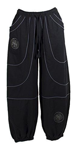 Balsamik pantalon de smoking avec bande de satin femme taille 38 couleur noir - Pantalon bande laterale homme ...