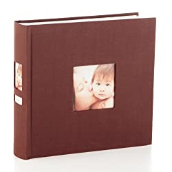 Pearhead Side Photo Album, Chocolate