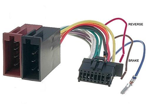 Fascio-Cavo adattatore per autoradio ISO a 16 pin per MVH PIONEER-AV270BT