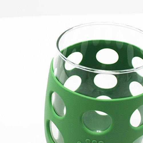 red wayfarer glasses  wine glasses
