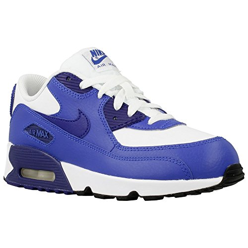 Nike - Air Max 90 Ltr PS - 833414105 - Couleur: Blanc-Violet - Pointure: 35.0