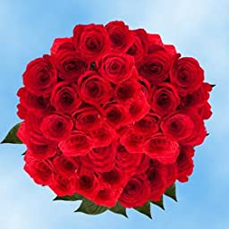 100 Fresh Cut Red Roses for Mother\'s Day | Classy Roses | Fresh Flowers Express Delivery | The Perfect Mother\'s Day Gift