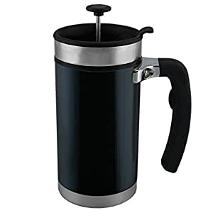 Planetary Design Desk Press Stainless Steel French Press Black