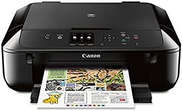 Canon MG5720 Wireless All-In-One Printer with Scanner and Copier: Mobile and Tablet Printing with Airprint(TM)compatible, Black