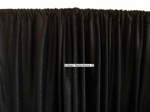 Curtains Ideas black velour curtains : custom made curtains: Black Velvet Curtains / Drapes / Panels ...