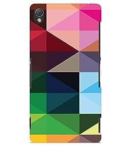 PrintVisa Digital Art Pattern 3D Hard Polycarbonate Designer Back Case Cover for Sony Xperia Z3 Mini