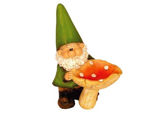 Woodland Wilf Feeds The Birds Garden Gnome