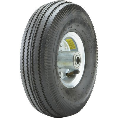 Pneumatic Tire and Wheel - 10in. x 4.10/3.50-4