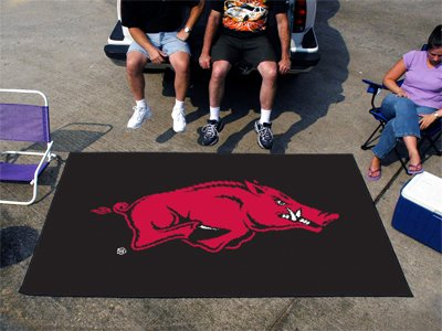 Arkansas Razorbacks 5'x8' Ulti-Mat Floor Mat (Rug) at Amazon.com