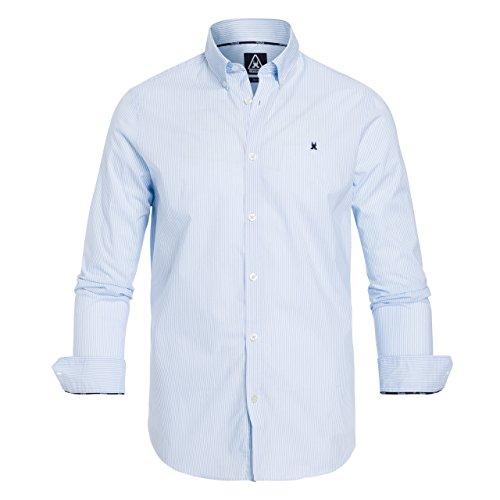 Gaastra Royal Sea Stripe-Camicia Uomo    Hellblau XXL