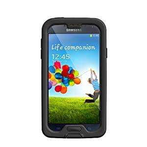 Lifeproof Samsung Galaxy S4 fre case - Carrying Case - Retail Packaging - Black/Clear