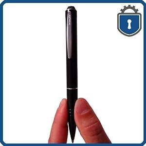 EyeSpySupply Slim Line Voice Activated Covert Digital Spy Pen Audio Recorder