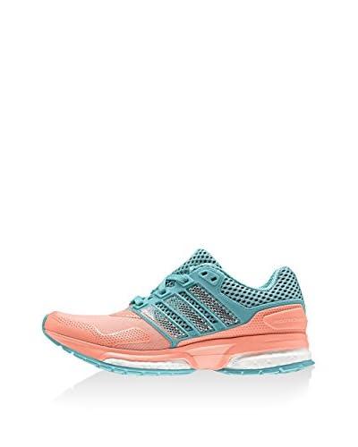 adidas Sneaker Response Boost 2 Techfit koralle/türkis
