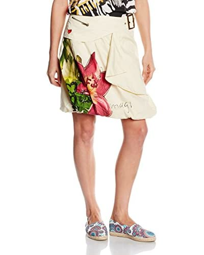 Desigual Skirt Fal_Santander, 1015 Algodón, 3