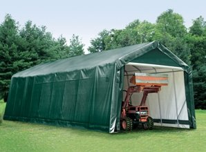 NEW 15 x 36 x 16H Shelter Logic Portable Garage