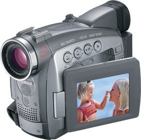 Canon ZR90 MiniDV Camcorder w/22x Optical Zoom