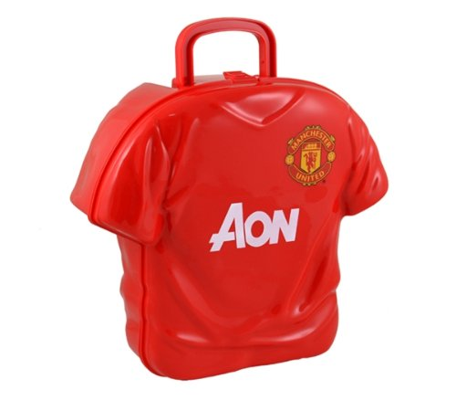 MANCHESTER UNITED SHIRT SHAPE LUNCH BOX