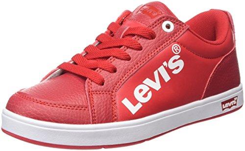 Levi's GRANIT - Scarpe da Ginnastica Basse Bambino, Rosso (Rouge 4), 28