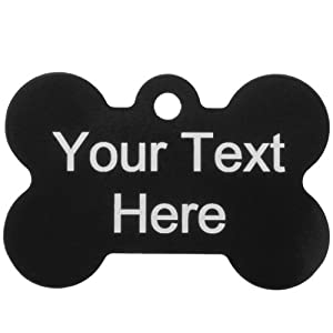 Personalized Chicago Bears Bone Dog ID Tag