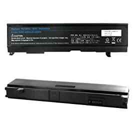 Toshiba Satellite M45-S169X Laptop Battery, Li-Ion 10.8V 4400mA
