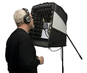 Amazon.com: The Porta-Booth Pro - Your Recording Studio At Home and on