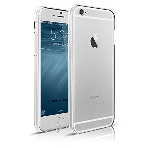 iPhone 6 Case, Maxboost® [Liquid Skin] iPhone 6 (4.7-inch) Case [0.4mm Crystal Clear] Soft Flexible Extremely Thin Gel TPU Transparent Skin Scratch-Proof Case for iPhone 6 (4.7 inch) (2014)