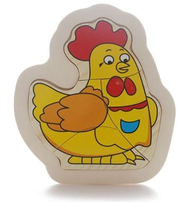 Thinkmax? Wooden Jigsaw Puzzle Toy Cock Model front-696672